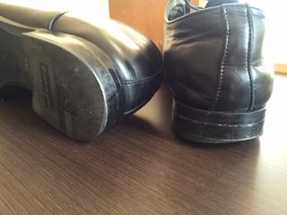 紳士靴 リフト交換