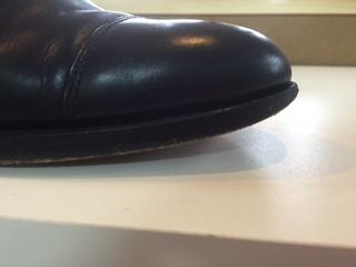 紳士靴修理 つま先補修