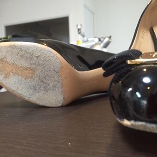 婦人靴 ハーフソールゴム半貼