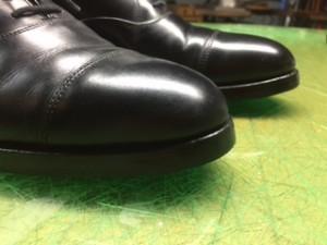 紳士靴修理 つま先・ハーフソール・リフト