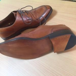 紳士靴 オールソール交換
