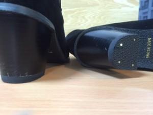 婦人靴 リフト交換