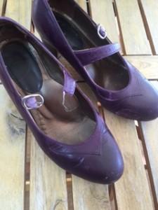 婦人靴 ベルト交換
